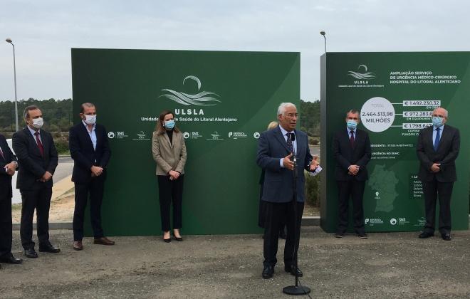 António Costa apela aos portugueses para cumprirem as regras para evitar a propagação da covid-19
