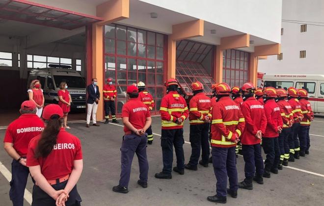 Álvaro Beijinha apela à vacinação de equipas de socorro dos bombeiros