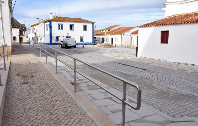 Concluídas as obra de requalificação do Centro Histórico de Alvalade