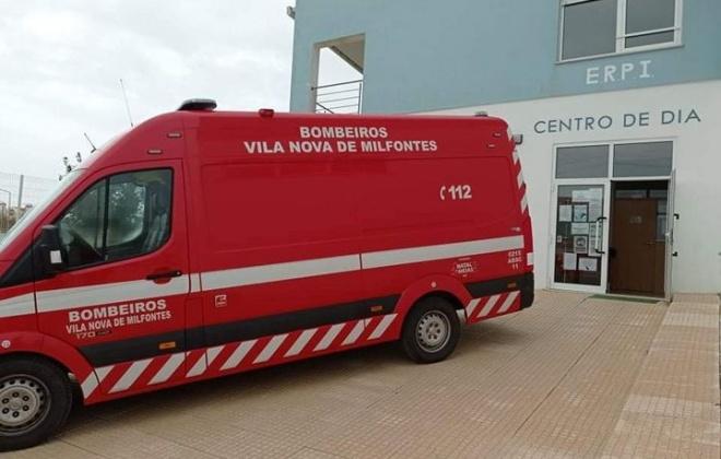 Bombeiros de Vila Nova de Milfontes apoiaram vacinação contra a Covid-19