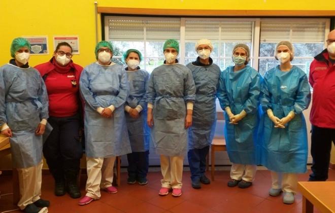 Teve inicio a vacinação na Cercisiago em Santiago do Cacém