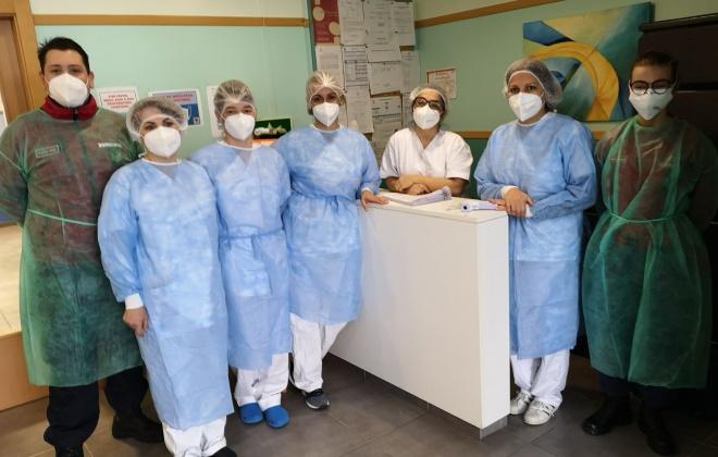 Covid-19: Utentes e funcionários da Cercisiago em Sines foram hoje vacinados