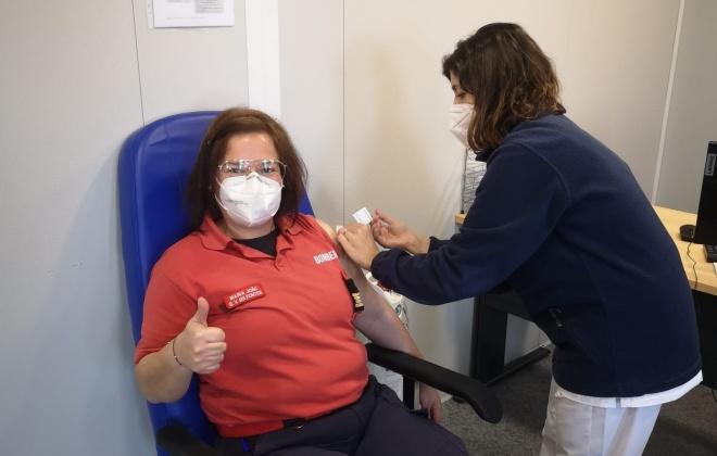 23 bombeiros de Vila Nova de Milfontes já foram vacinados