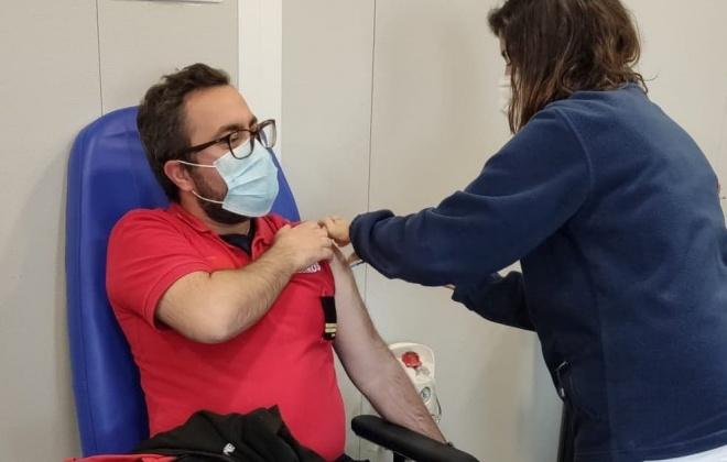 Em Sines falta apenas vacinar quatro  bombeiros e 15 já estão a receber a segunda dose