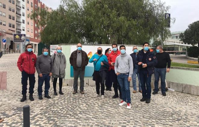CB de Santiago do Cacém com 38 bombeiros vacinados