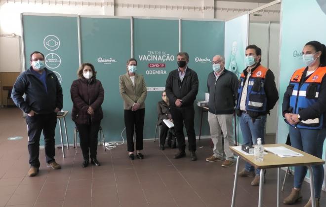 Começou hoje a vacinação contra a Covid-19 em Odemira