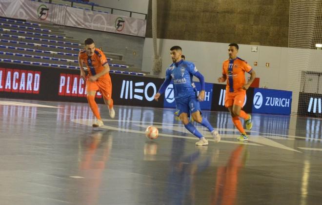 Modicus é o segundo semifinalista da Taça da Liga de Futsal que decorre em Sines