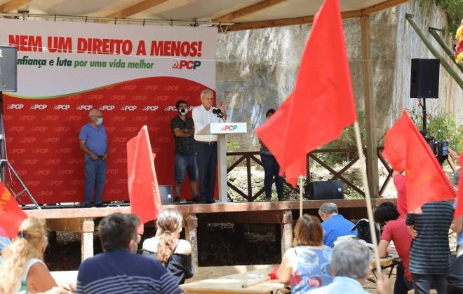 Jerónimo de Sousa está em Grândola neste domingo