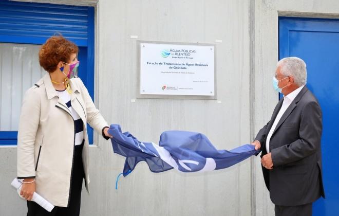 Nova ETAR de Grândola foi hoje inaugurada