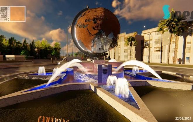 Rotunda da Avenida D. Pedro I homenageia feito de Vasco da Gama