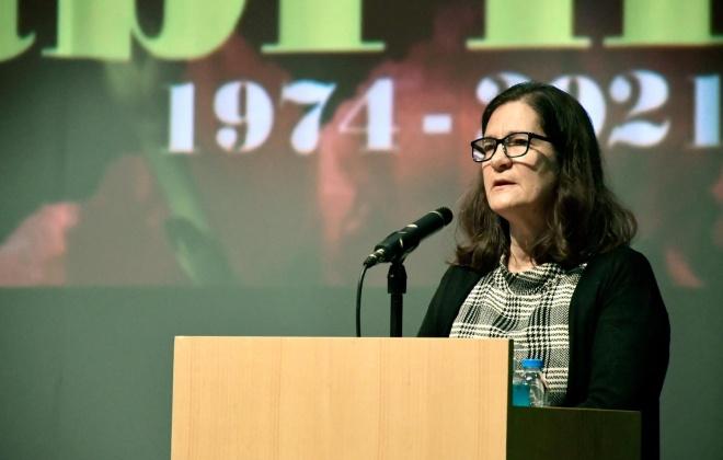 Autárquicas2021: Paula Lopes é a candidata da CDU à Assembleia Municipal de Santiago do Cacém