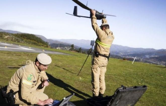 GNR vigia incêndios rurais com 14 drones autorizados pela Proteção de Dados