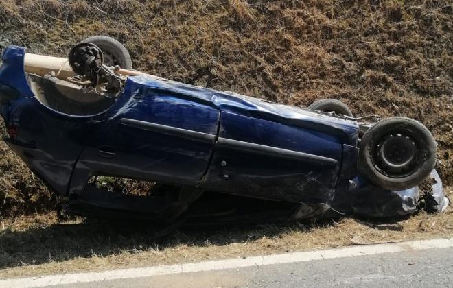 Despiste provoca um ferido na Estrada Nacional 262 em Cercal do Alentejo