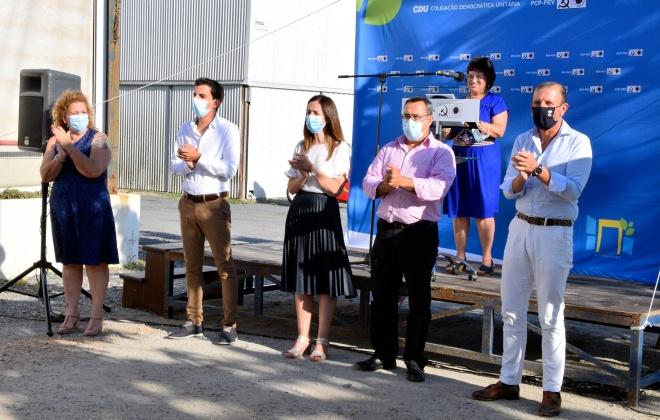 Autárquicas: CDU divulgou os primeiros sete nomes da candidatura à Câmara Municipal de Santiago do Cacém