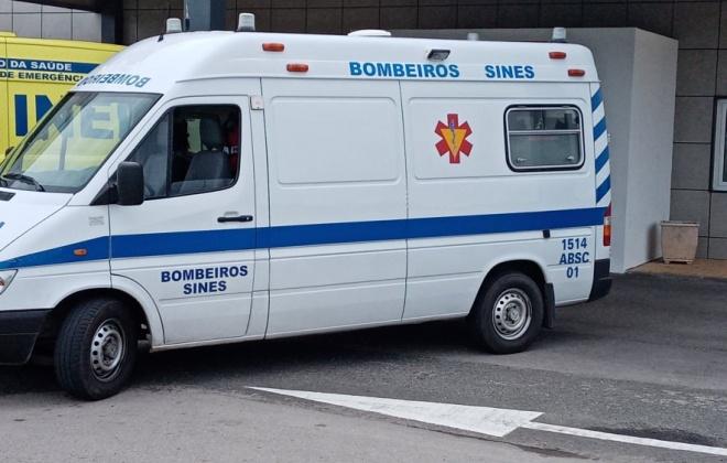 Colisão provoca sete feridos em Sines