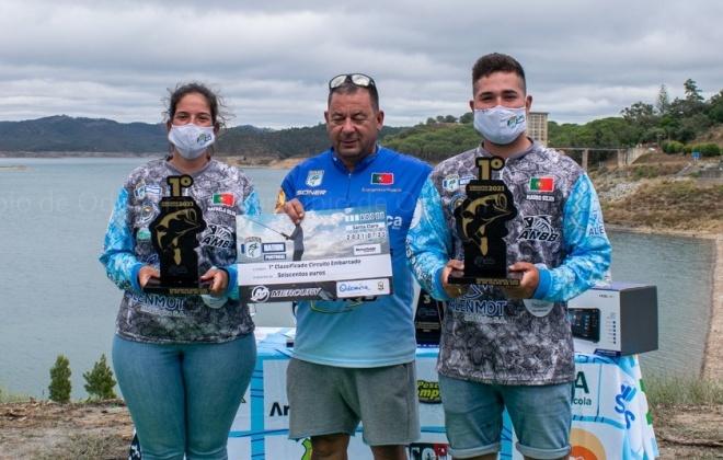Albufeira de Santa Clara recebeu o Circuito de Pesca Embarcada ao Achigã